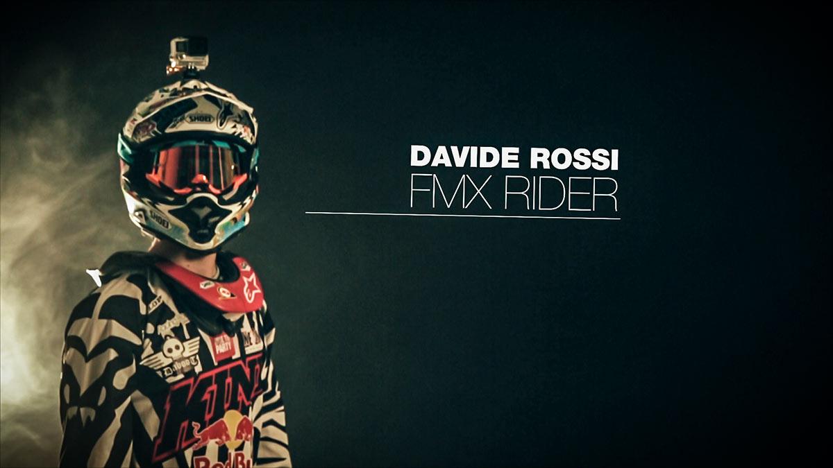 Davide Rossi Fmx Rider Italian Freestyle Motocross Rider